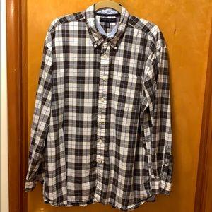 Tommy Hilfiger Button Down Shirt Size XL EUC
